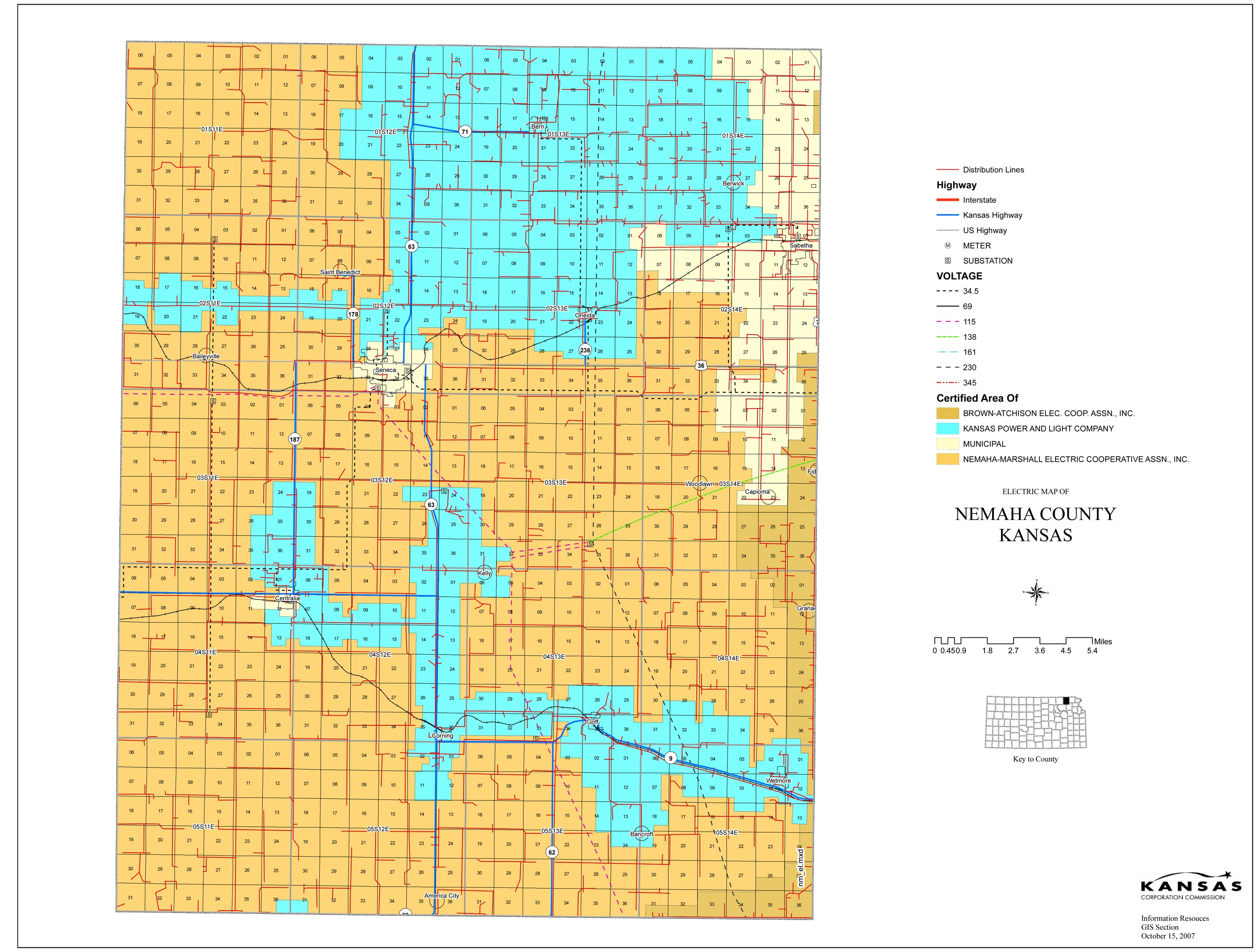 image relating to Kansas County Map Printable identified as EMS Districts